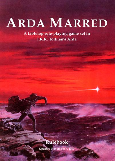 Arda Marred mentioned in Basic Roleplaying discussion